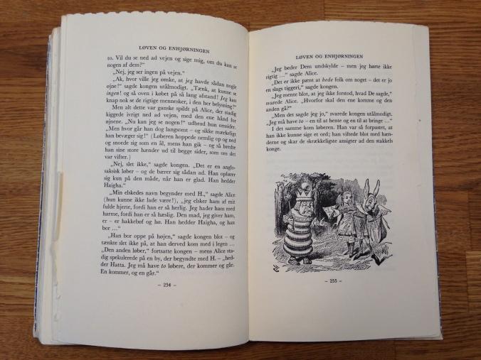 Alice i eventyrland opsprættet